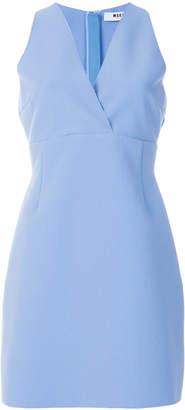 MSGM v-neck fitted dress