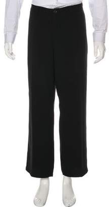 Armani Collezioni Textured Dress Pants