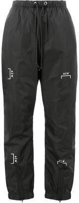 A-Cold-Wall* cropped drawstring trousers