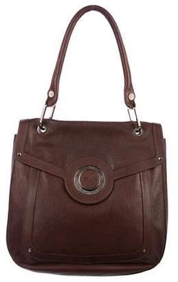Roger Vivier Leather Push-Lock Shoulder Bag