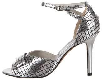 Golden Goose Glass Mirrors Sandals