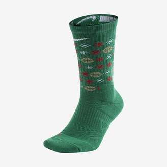 Nike Elite Graphic Basketball Crew Socks