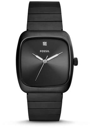 Fossil Rutherford Carbon Series Black Stainless Steel Watch