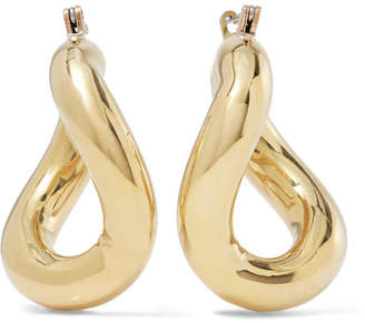Anima Gold-tone Hoop Earrings