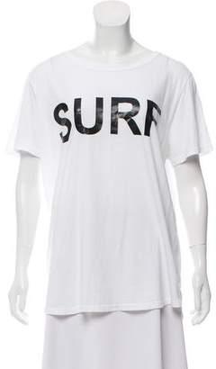 Mikoh Printed Bateau Neck T-Shirt w/ Tags