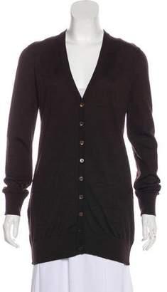 Dolce & Gabbana Virgin Wool Button-Up Cardigan