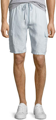 Vince Men's Hemp Drawstring Cargo Shorts