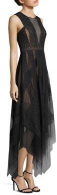 BCBGMAXAZRIA Andi Lace Gown $398 thestylecure.com