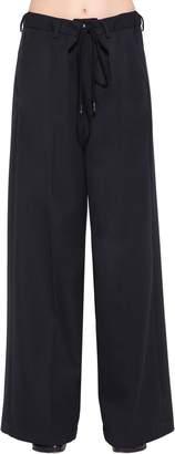 MM6 MAISON MARGIELA Oversized Wool Blend Pants