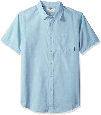 Billabong Men's All Day Helix Short Sleeve Shirt