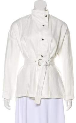 Isabel Marant Linen Lightweight Jacket