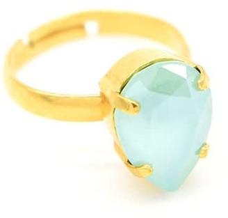 Rosaspina Firenze Mint Green Drop Ring