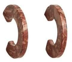 MANGO Austin Hoop Earrings