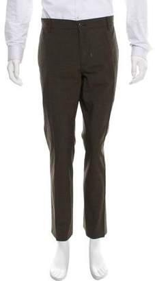 John Varvatos Cropped Wool Pants