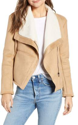 BB Dakota Autumn in New York Faux Shearling Jacket