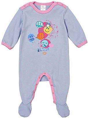Schiesser Baby Girls 0-24m Baby Anzug Mit Fuß One Piece Sleep suit /Pyjama,(Manufacturer size: 068)
