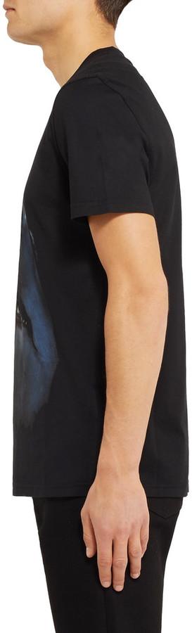 Givenchy Cuban-Fit Shark-Print Cotton-Jersey T-Shirt 4