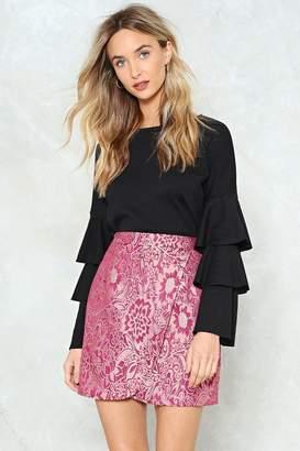 Nasty Gal Back to Jacq Wrap Skirt