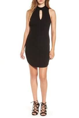 ASTR the Label ASTR Cutout Knit Body-Con Dress
