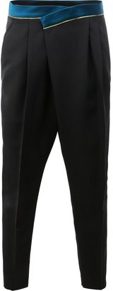 Haider Ackermann tapered trousers $1,185 thestylecure.com