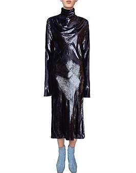 Ellery Gotham Contrast Sleeve Dress