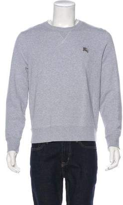 Burberry Embroidered Equestrian Knight Sweatshirt