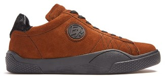 Eytys Wave Low Top Suede Trainers - Mens - Brown