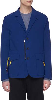 GEYM Drawcord pocket soft blazer