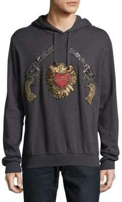 Dolce & Gabbana Guns and Heart Cotton Sweatshirt