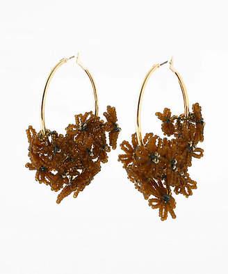 Jo-Jo [JOJO] ピアス flower basket hoop earrings