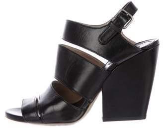 Dries Van Noten Caged Leather Sandals