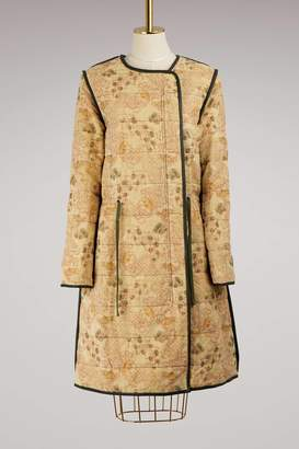 Isabel Marant Cotton and Linen Geist Coat
