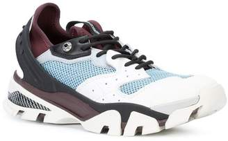 Calvin Klein nappa lace-up athletic sneakers