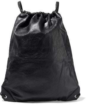 Alexander Wang Crinkled-Leather Backpack
