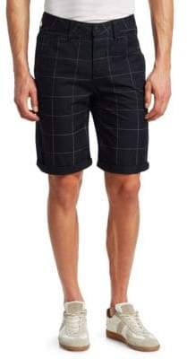 G Star Elwood 5622 Check Cotton Shorts