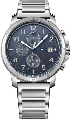 Tommy Hilfiger Men's Casual Sport Stainless Steel Bracelet Watch 44mm 1791360 $145 thestylecure.com
