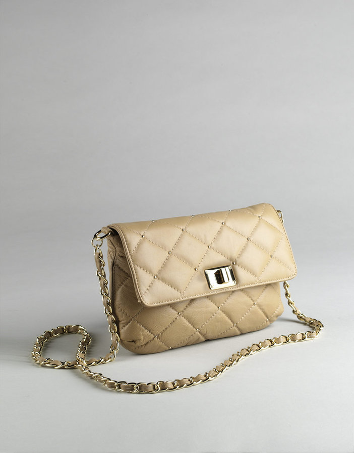 PARADOX Quilted Leather Crossbody Bag
