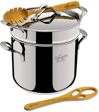 Lagostina Stainless Steel 6-Qt. Pastaiola Pasta Pot with Insert & Lid