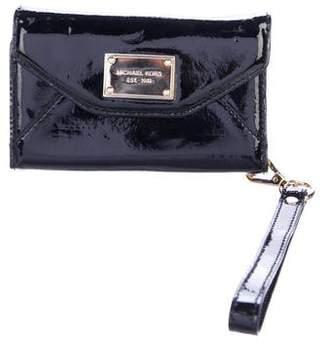 MICHAEL Michael Kors Patent Leather Phone Wristlet