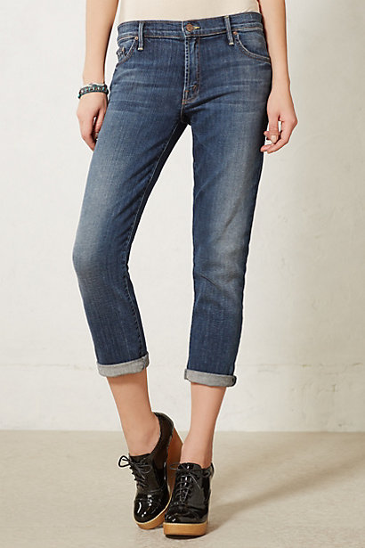 Anthropologie Mother Dropout Slouchy Skinny Jeans