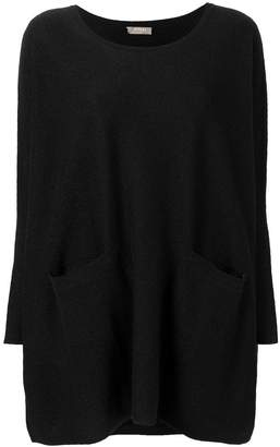 N.Peal pocket patch knitted tunic