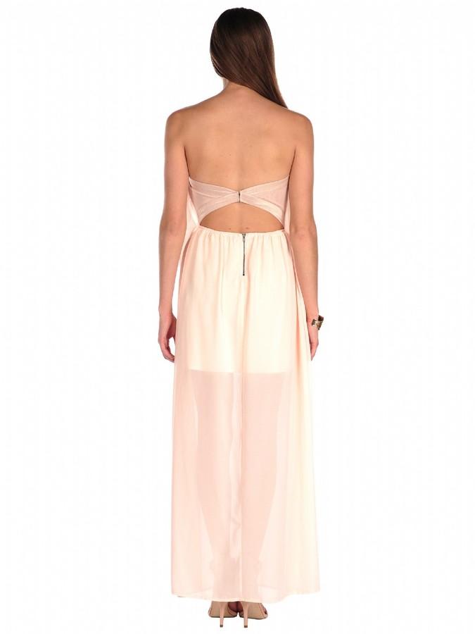 Ark & Co. Strapless Grecian Dress