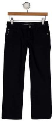 Armani Junior Boys' Five Pockets Straight-Leg Jeans