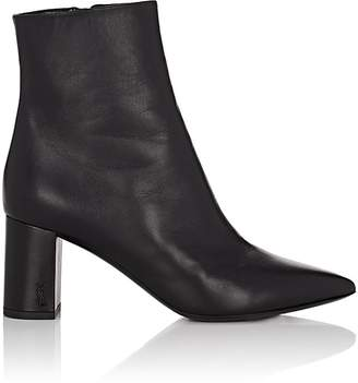 Saint Laurent Women's Betty Leather Ankle Boots