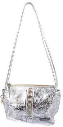 Marc Jacobs Metallic Leather Shoulder Bag