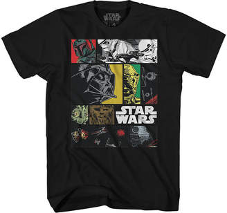 Star Wars Novelty T-Shirts Ink Comic Graphic Tee