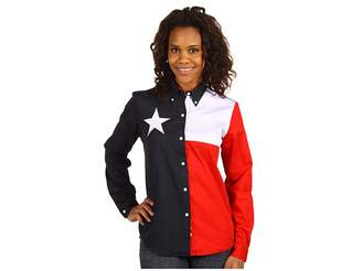 Roper Texas Pieced Flag Shirt
