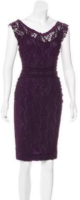 Dolce & Gabbana Lace Knee-Length Dress
