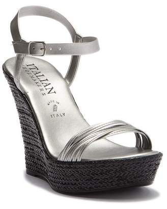 Italian Shoemakers Feria Wedge Heel Sandal