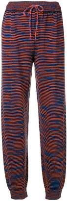 M Missoni knitted sweatpants